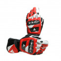 Guantes Dainese Druid 3 Black/white/lava-red