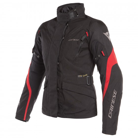 Chaqueta DAINESE Tempest 2 D-Dry Lady black/ tour red