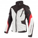 Chaqueta DAINESE Tempest 2 D-Dry Lady light gray /black/ tour red