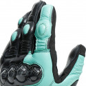 Guantes Dainese Carbon 3 Lady Black/Aqua-Green/Anthracite